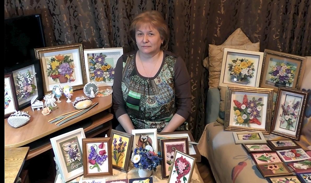 Преподаватель студии квиллинга - Ольга Власова