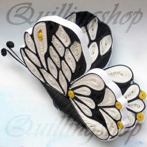 Бабочка (объемный квиллинг)