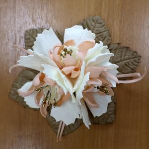 Фантазийный цветок из фоамирана