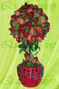 Топиарий -  бутоны роз