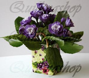 """""""Violets"""", crystal paper"""