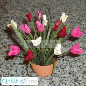 Tulips (quilling)